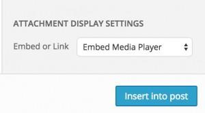 audio attachement displays