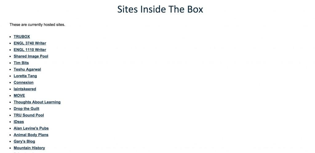 sitelist