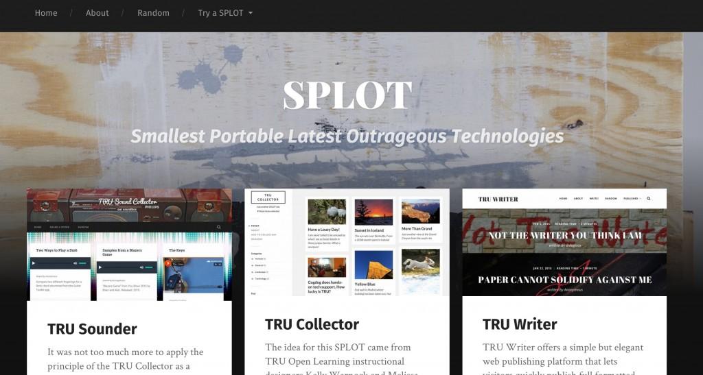 splot page
